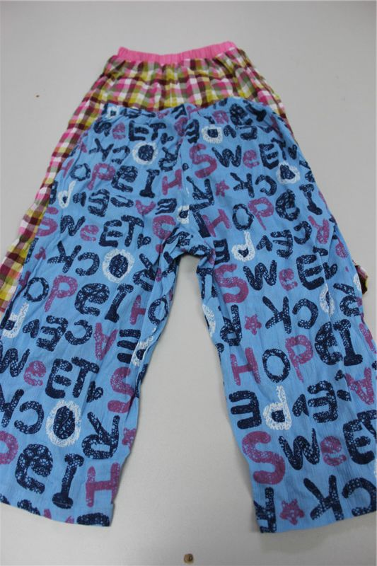 儿童成人梭织裤