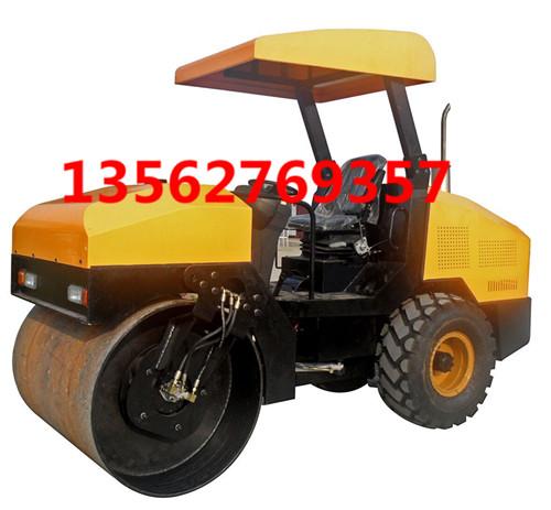 驾驶型4吨压路机 轮胎4吨振动轧道机欢迎询价