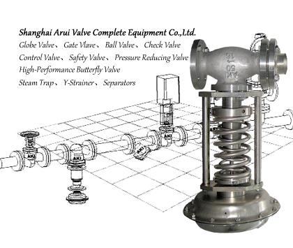 FIG.DRV4蒸汽自力式减压阀,法兰自力式减压阀