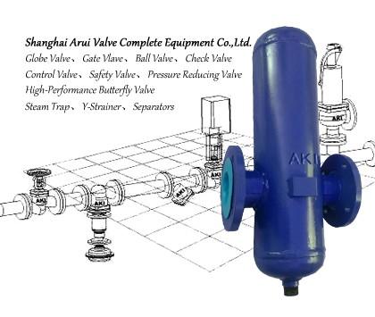 FIG.S7蒸汽挡板式汽水分离器