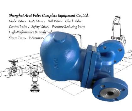 FIG.CTIV蒸汽杠杆浮球式疏水阀
