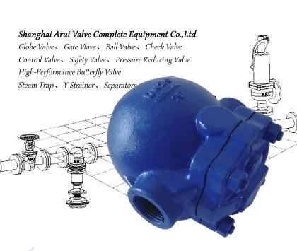 FIG.CTI螺纹杠杆浮球式疏水阀