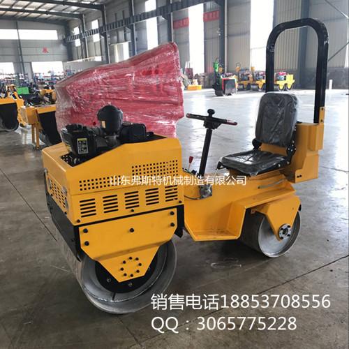 漳州市座驾式小型压路机价格 载人式压土机 双钢轮压道机