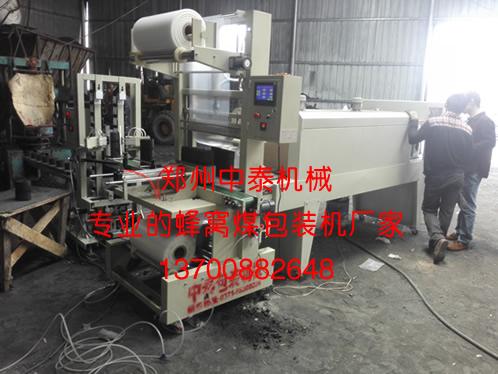 节能型全自动蜂窝煤包装机,中泰机械厂家直销