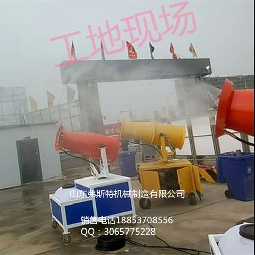 梅州市小型雾炮 移动型喷雾机 降尘雾炮机厂家