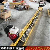 5米汽油振�v尺 水泥地坪振�映� 汽油型震平尺