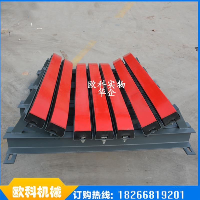 聚氨乙烯缓冲床800皮带机缓冲床缓冲滑条矿用