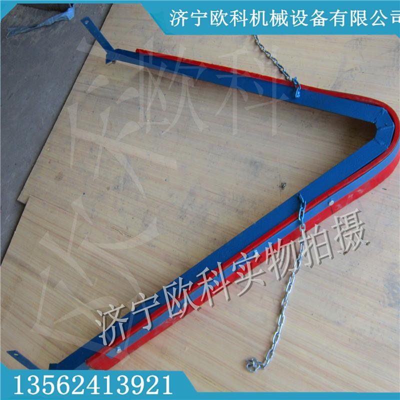 空段聚氨酯刮煤机合金可逆清扫器 聚氨酯可逆清扫器