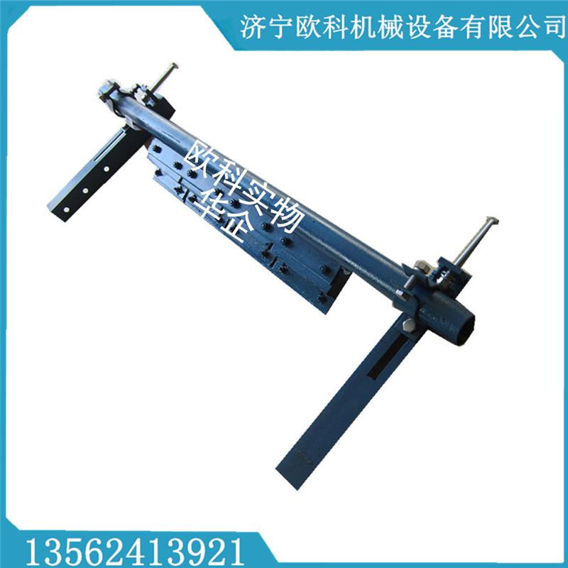 皮带机合金清扫器硬质合金橡胶清扫器P型输送带清扫器