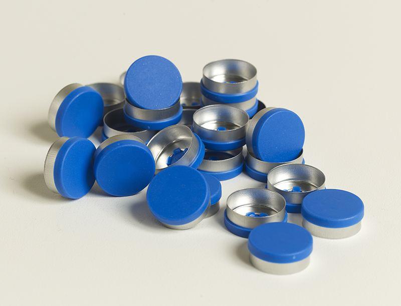 铝塑盖(天蓝色)生产厂家