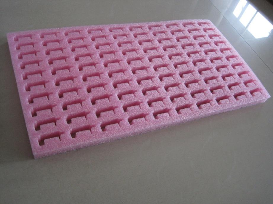 粉红色防静电海棉