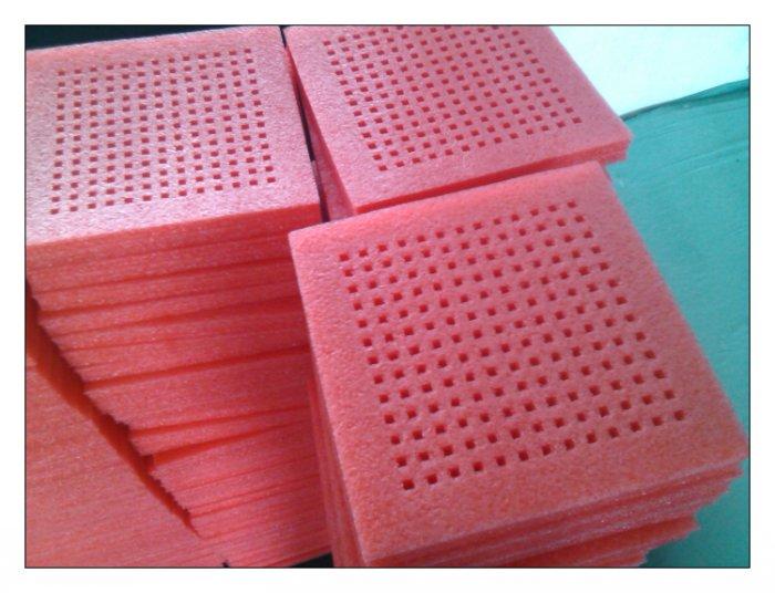 粉红色防静电泡绵