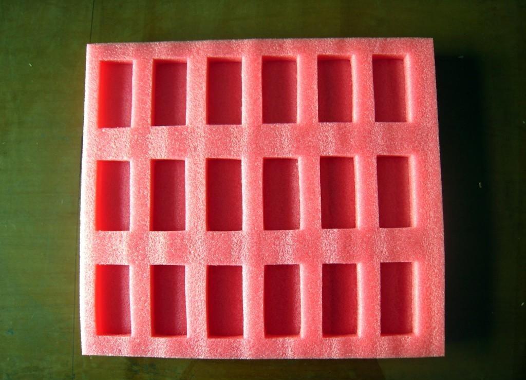 粉红色防静电泡棉
