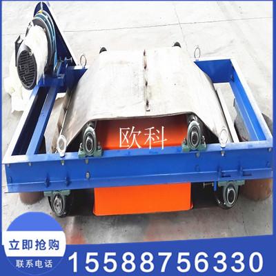 内蒙古皮带机永磁自卸除铁器输送带自卸除铁器