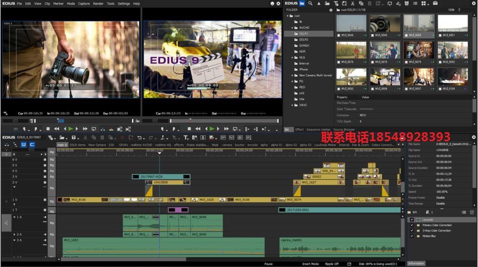 演播室非线性编辑工作站,天创华视4k非线性编辑整机