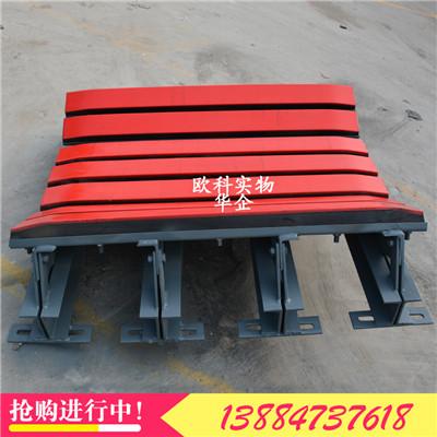 带宽1.6米重型缓冲滑槽缓冲床聚乙烯耐磨胶条