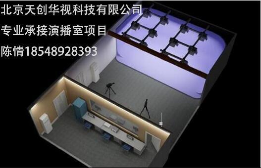 厂家演播室搭建校园电视台搭建