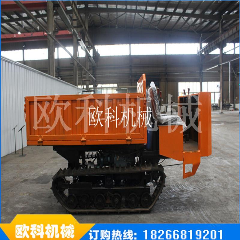建筑工程履带式拖拉机小型履带运输车小型履带式农用运输车