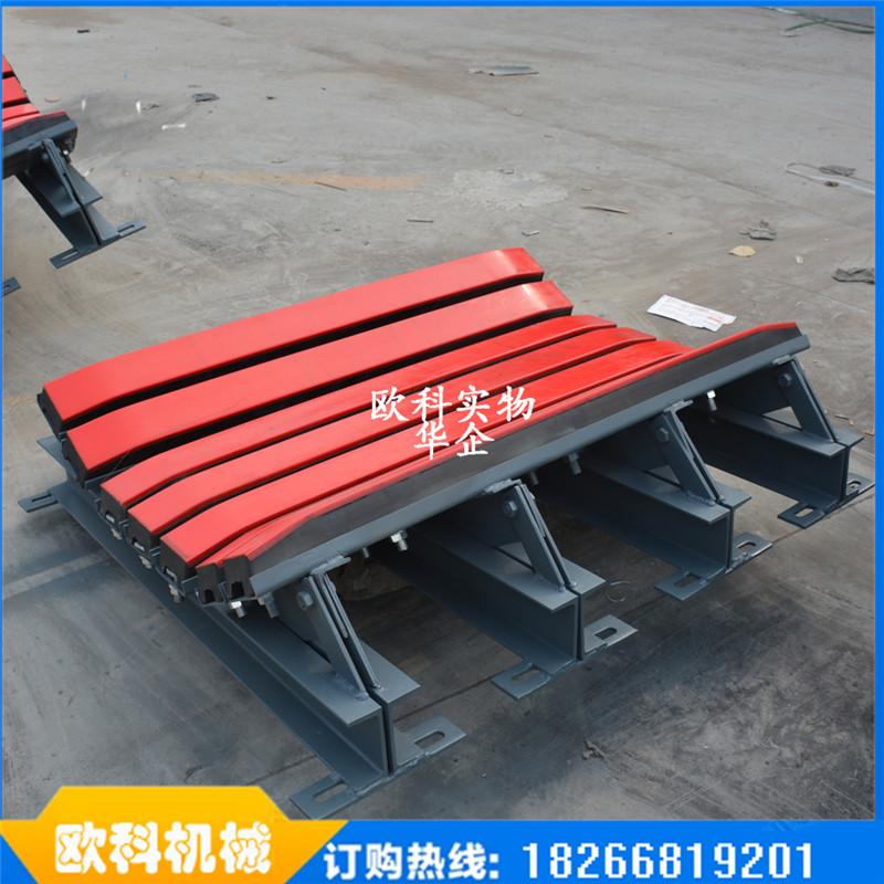 矿业输送物料专用缓冲床输送机落料缓冲床水泥厂下料口缓冲床