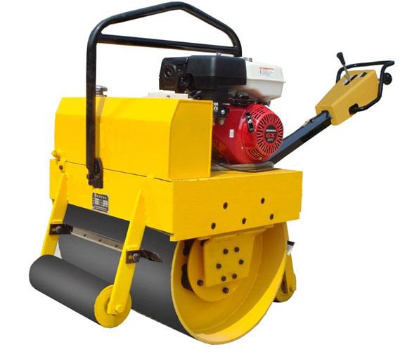 手扶振动双钢轮柴油压路机生产厂家
