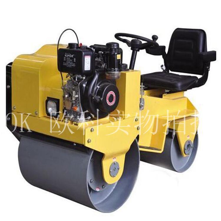 手扶式座驾沥青柴油压实机小型1.5吨压路机