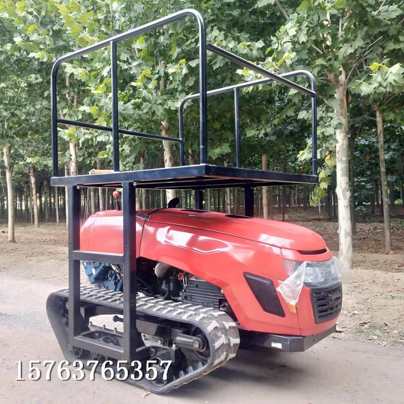 新型旋耕机可以灵活作业的履带自走式旋耕机型号