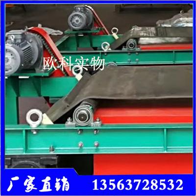 木屑建材垃圾自卸除铁器输送带悬挂专用自卸除铁器