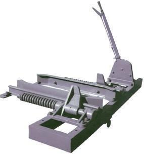 矿用抱轨式阻车器阻轮式阻车器