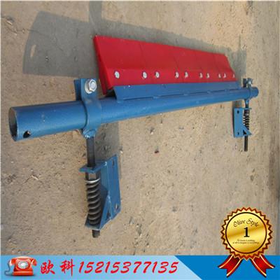 输送带刮泥板刮料器垂直皮带机二道刮泥板二道整体式刮泥板