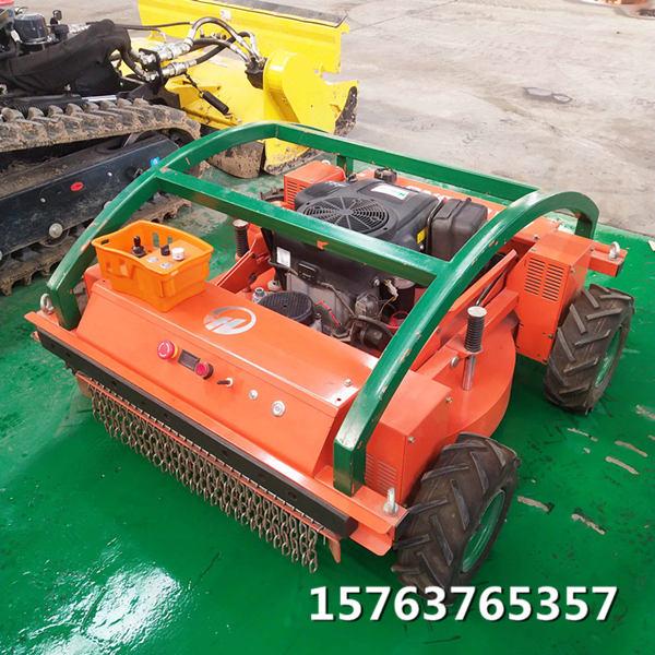 遥控轮式割草机工作变得轻松汽油小型割草机