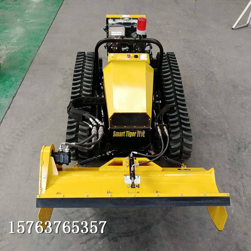 遥控斜坡割草机提高工作效率全地形履带式割草机