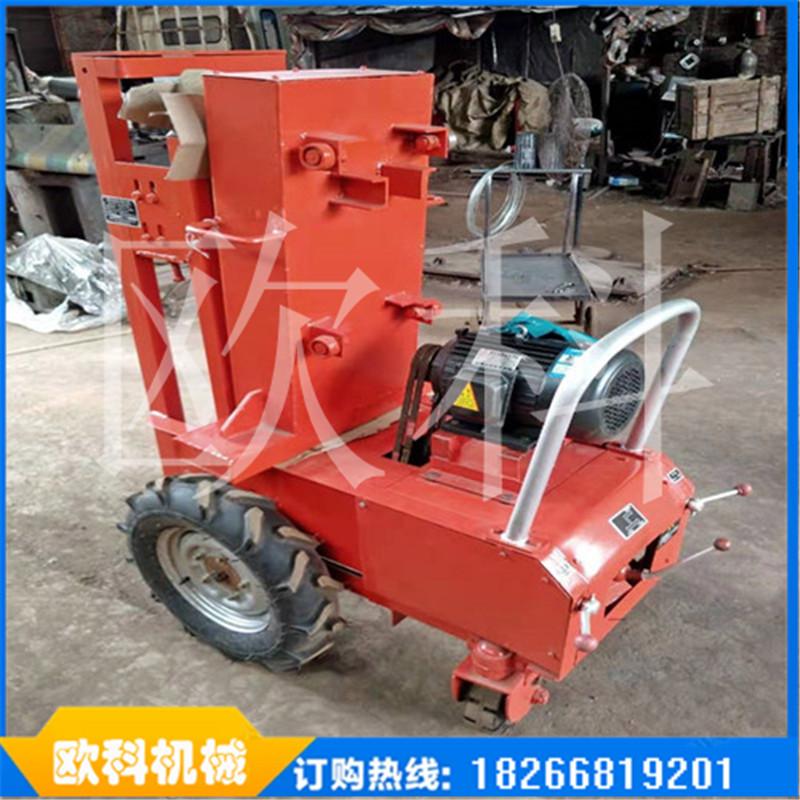 四轮手扶拖拉机打夯机柴油砸夯机价格小型轻便自行式打夯机