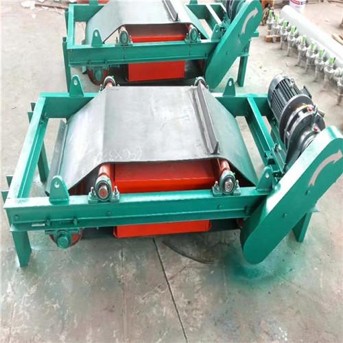 分离金属吸铁石输送带吸铁器电磁自卸除铁器