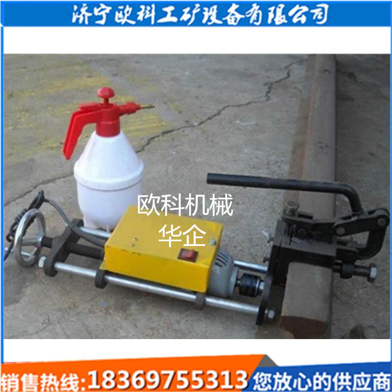 便携式内燃挤孔机打孔机空心内燃钢轨钻孔机