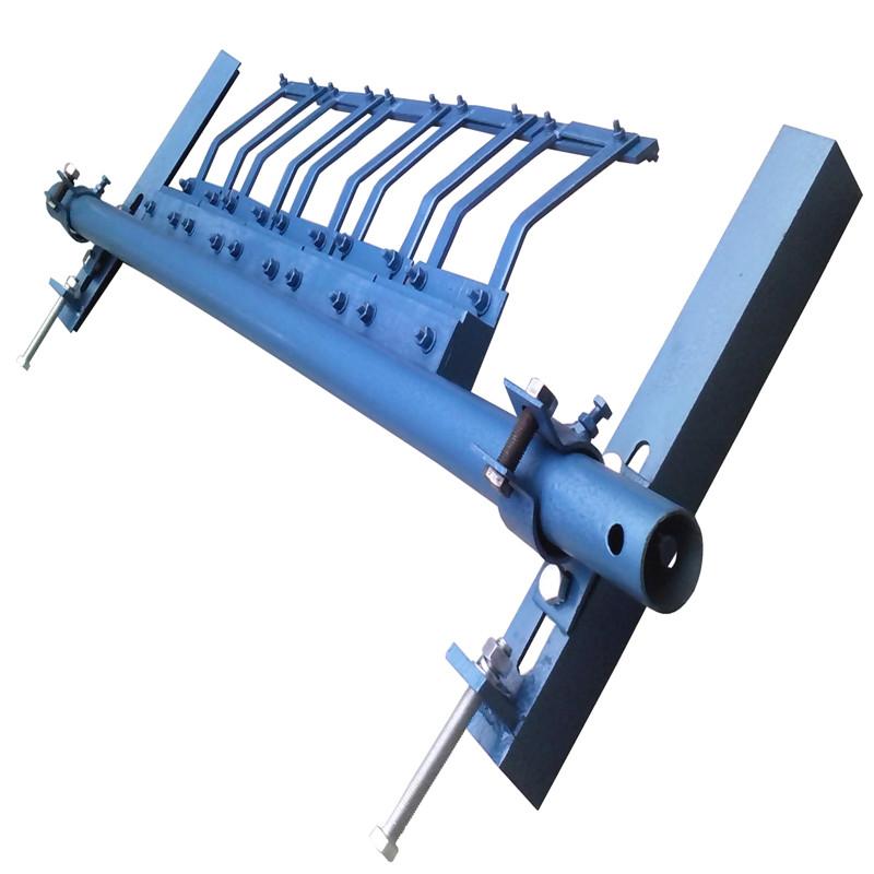 H型合金清扫器支架合金橡胶清扫器厂家聚氨酯清扫器