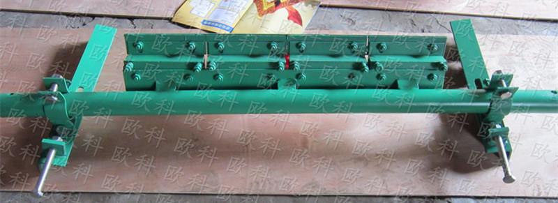 H型皮带机清扫器聚氨酯刮板刮刀胶带机刮砂器