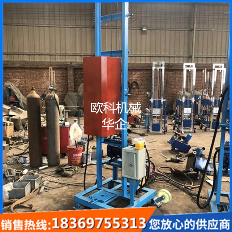 工程用大型钻井机150m气动水井钻机柴油气动打井机