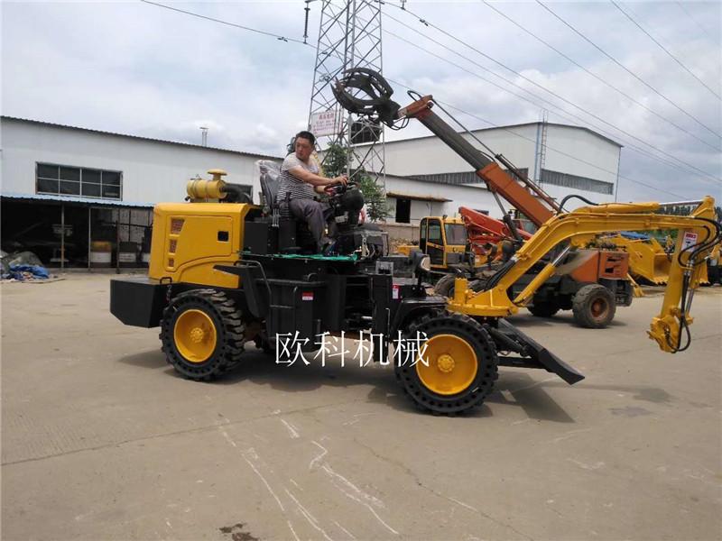 建筑工程挖掘装载机农用两头忙装载机