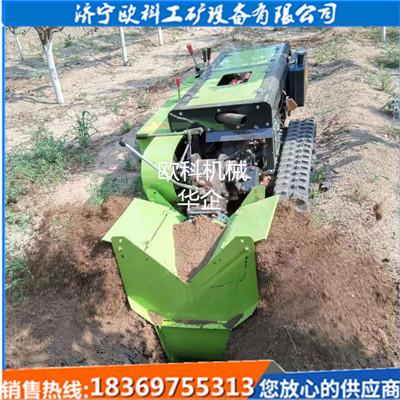 农用小型多功能开沟施肥机大型果园施肥机