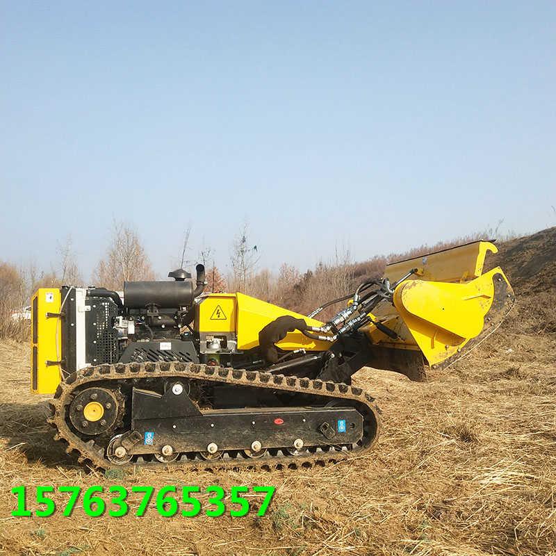 遥控割草机操作简单方便河堤护坡割草机