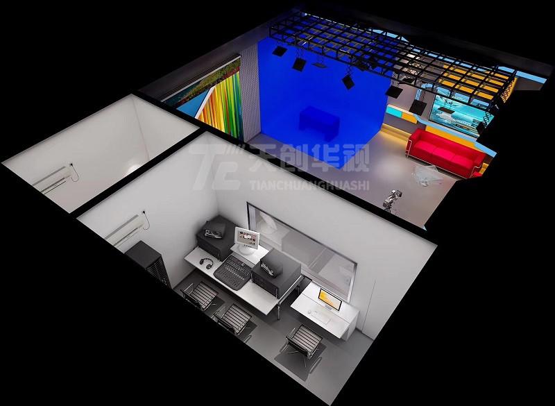 虚拟演播厅高清虚拟演播室建设方案设备清单