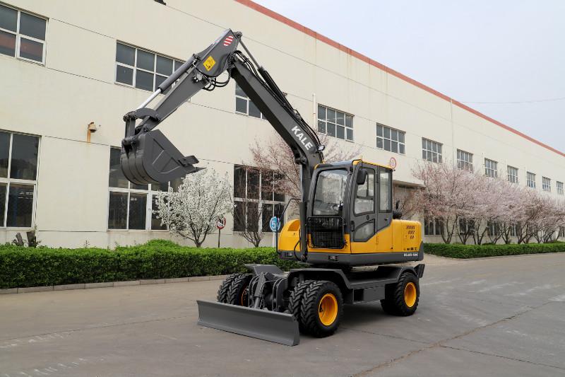山地土地全新施工轮挖路面工程用轮胎挖掘机山东轮式挖掘机
