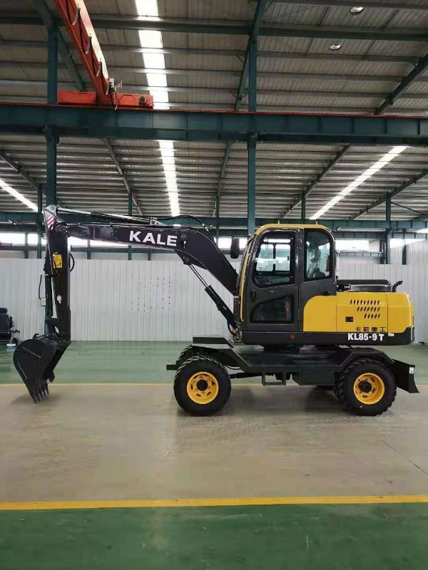 旋转灵活高效售后保障园林果园挖掘机自卸式工程建筑用多功能挖掘机