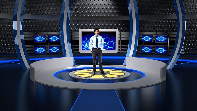 高度集成虚拟演播室系统4K抠像直播设备